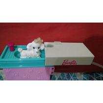 Cachorro Poodle Da Barbie Veterinaria E Banheira Para Banho