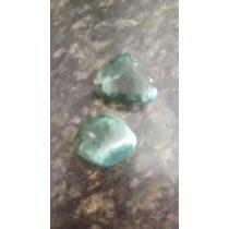 Pedras De Quartzo Verde (kit Com Duas)