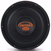 Triton 4000w Rms Alto Falante Woofer Tr4000 12 Pol. 4 Ohms
