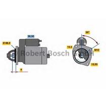 Motor Partida Arranque Megane Scenic 2.0 Cod: 8200724805