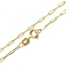 Cordão De Ouro Cartier 2mm 60cm 9,5gr Leão Jóias