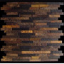 Mosaico De Pedra Ferro - Filete Palito 30x30 Cm