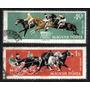 Hungria 1961 * Cavalos .em Corrida * Trote * Galope