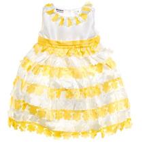 Vestido Infantil De Festa - Importado (frete Grátis)