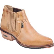 Bota / Botina Country 100% Couro Legitimo Capelli Boots