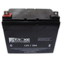 Bateria Stroke 33ah 12v Gel Selada Bicicleta Moto Eletrica