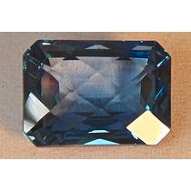 Rsp 454 Topázio Azul Checker Board 18,74x13,49mm Com 22,6 Ct
