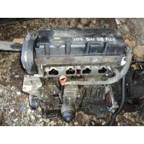 Motor Parcial Peugeot 307 C4 2.0 16v 08 Flex