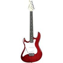 Guitarra Strato Strinberg Canhota Egs-216 Lh - Vermelha