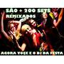 3dvds+200 Sets P/djs Remixados Sua Festa Pronta+frete Gratis