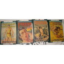Coleção Tarzan Terramarear. 4 Volumes