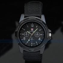 Relógio Gemius Swiss Army Tipo Militar Importado Exército