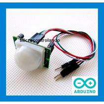Sensor Presença E Movimento + Cabo + Cód Exemplo Arduino Pic