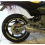 Friso Adesivo Roda Refletivo Rec5 Moto Hornet + Frete Grátis