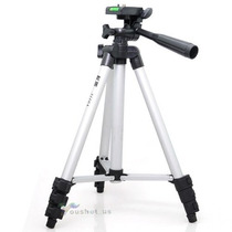 Tripé Universal Alumínio 110cm Câmeras Filmadoras + Bolsa