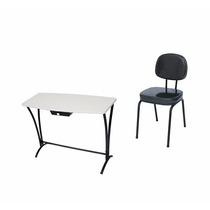 Kit Manicure 7 - Mesa Mc1 + Cadeira Nota Fiscal E Garantia