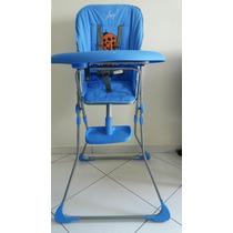 Cadeira Alim.bebê Angel Azul (novo)- Pequenas Marcas Bandeja