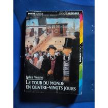 Livro Francês - Le Tour Du Monde En - Jules Verne