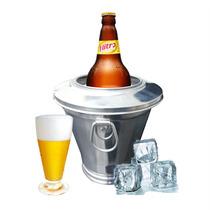 Cervegela Porta Gelo Litrão Fácil Utilização Mantem Gelado