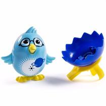 Brinquedo Digichicks Passarinhos Piam E Cantam Dtc 3577 Azul