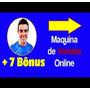Curso Máquina De Vendas Online 2.0