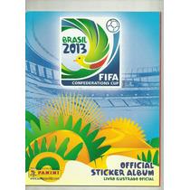 Álbum Copa Das Confederações Brasil 2013 - Panini _ Vazio