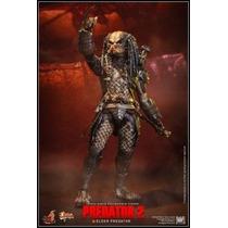 Hot Toys Elder Predator 2 Elder 2.0 Predador 2.0 Vs 2014
