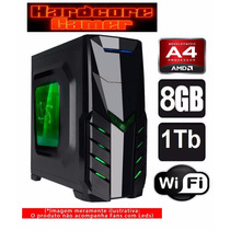 Cpu Gamer Amd A4 7300/ 1tb/ 8gb/ Hd 8470d/ Hdmi/ Gta,csgo