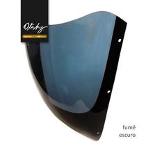 Bolha Para-brisa Cbx 750 F Galo 87/90 Qualidade Fumê Escuro