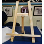 Cavalete De Mesa Para Apoio De Telas Para Pintura A Óleo