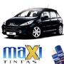 Tinta Spray Automotiva Peugeot Preto Perla Ktv +verniz 300ml