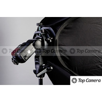 Softbox Speedlight Dobrável 60x60cm P/ Flash Dedicado