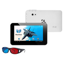 Tablet Dl Max View 3d Td-m71 Tela 7 8gb Wi-fi N/fiscal