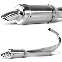Escapamento Pro Tork Dimensionado Para Mobilete Caloi