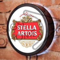 Luminoso / Luminária Parede Bar Led - Cerveja Stella Artois