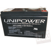 Kit C/ 10pçs Bateria Selada 12v 9ah Unipower Up1290 No-break
