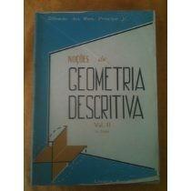 Noçoes De Geometria Descritiva Vol 2 Alfredo Dos Reis-r