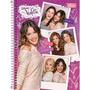 Kit C/ 4 Cadernos Da Violetta Disney Tilibra 2015 Sortido