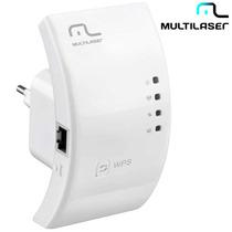 Repetidor Wps Wireless Re051 Multilaser 300 Mbps Função Wps