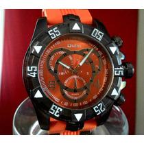 Relógio Design Invicta Reserve - Marca Oulm Original Orange