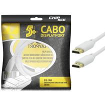 Cabo Displayport 3.00m Macho X Macho Branco - Com Nfe