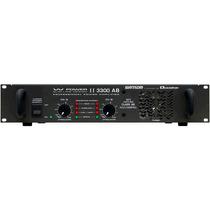 Amplificador Potência 825w Ciclotron W Power Ii 3300 Ab