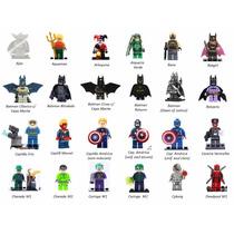Bonecos Avengers Marvel Dc Blocos De Montar