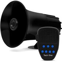 Sirene Policia 7 Sons Rontan Veículos Especiais + Microfone