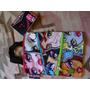 Bolsa Infantil Nylon Monster High Vira Mochila E Crossbody