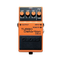 Boss Turbo Distortion Ds-2: Pedal De Distorcao P/ Guitarra
