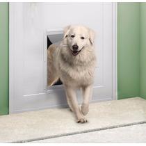 Porta Pet Alumínio Cães Gatos G 33cm X 46cm Pet Shop Gravia