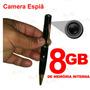 Camera Filmadora Caneta Espiã Hd + 8gb Spypen Frete Grátis