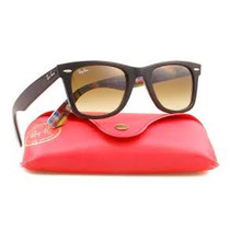 Óculos De Sol Rayban Wayfarer 2140 - Case Vermelho Lançamen