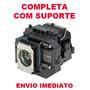 Lampada Projetor Epson S9/10/10+ Elplp58 V13h010l58 Complet